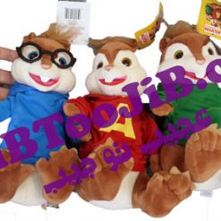 Alvin dolls and squirrels