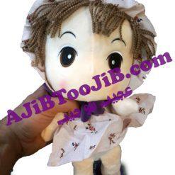 عروسک ممل لباس گلدار
