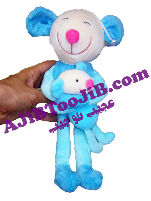 عروسک موش بچه دار مهربان (ضد حساسیت)