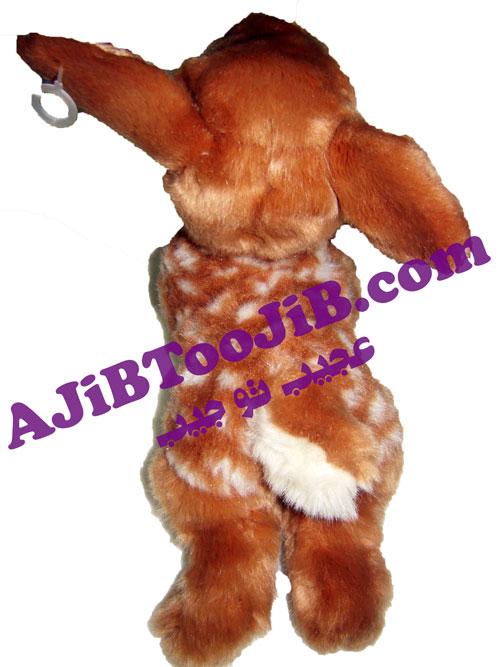Beautiful speckled deer doll