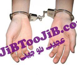 Police handcuffs joke