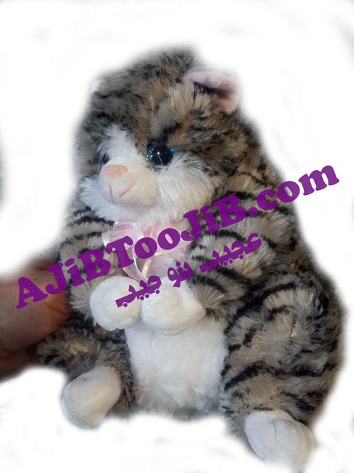 عروسک گربه ملوس خپل (صدادار)