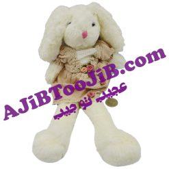 خرگوش جلی کت دامن گلدار کوچک