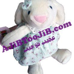خرگوش Jelly Cat دامن گلدار (سایز کوچک)