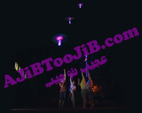 Luminous gig in air