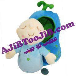 عروسک نوزادهای خوابیده در قنداق