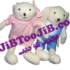 خرگوش های دختر و پسر بارنی ( اورجینال )