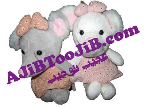 موش های دختر پاپیون به سر