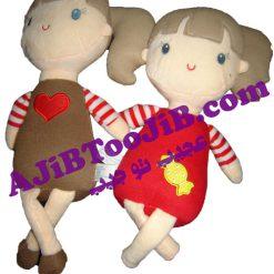 دخترهای شکلاتی مهربان
