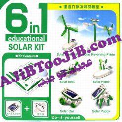 ربات خورشیدی 6 کاره (آموزشی)