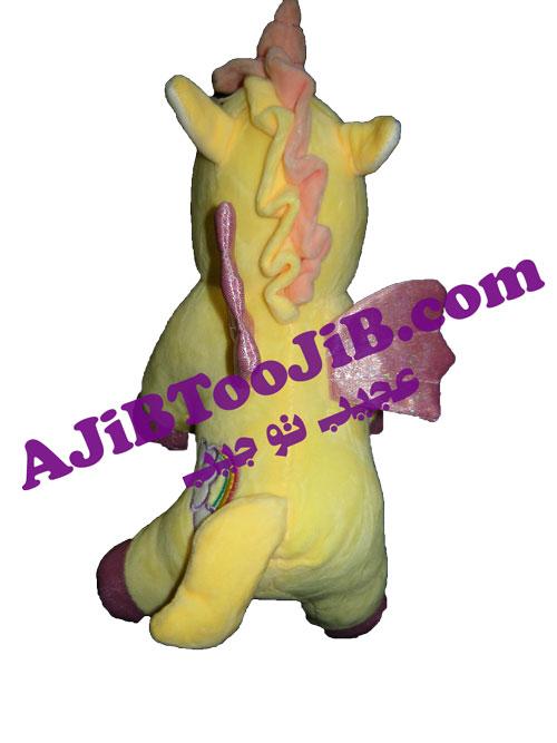 پونی اسب شاخدار بالدار (مدل ژله ای)