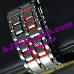 ساعت سامورایی (جعبه فلزی اصل)