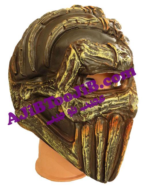 ماسک جنگجوی کلاه زرهی