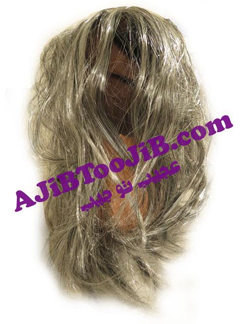 Mask wrinkled oldwoman