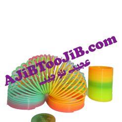 فنرهای رنگی بازی (بسته کامل سه سایزی)