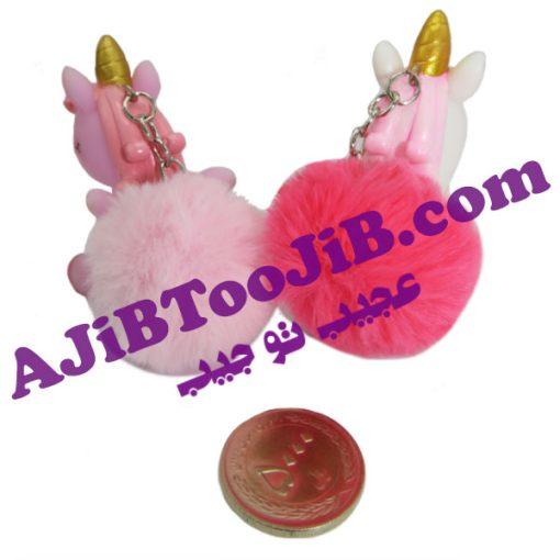 Doll pendant wool whistle unicorn