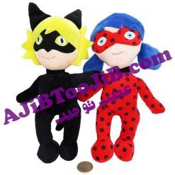 عروسک های دختر کفشدوزکی و پسر گربه ای