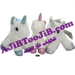 Doll unicorn woolen horn