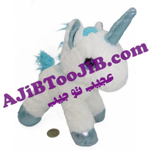 Doll unicorn woolen horn