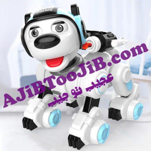 ربات سگ پلیس هوشمند (تیر پرتاب کن)