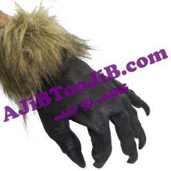 دستکش پنجه گرگ سیاه
