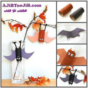 ساخت کاردستی خفاش برای بچه ها