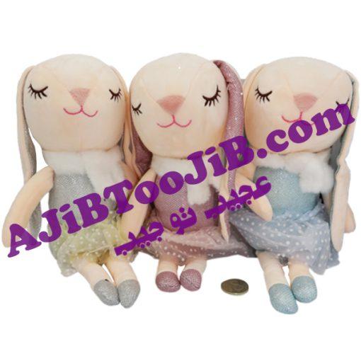 Cute shiny rabbits