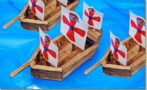 ساخت کشتی چوبی