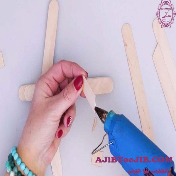 ساخت هواپیما با چوب بستنی