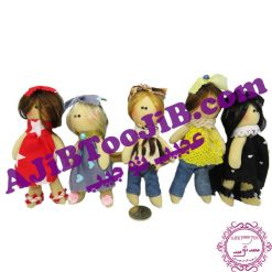 Doll pendant Russian girls