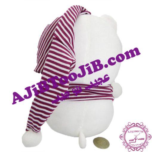 خرس سفید خوابالوی کلاهدار