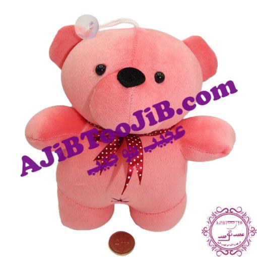 عروسک خرس کپل صورتی