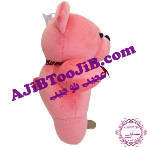 Doll funny pink bear