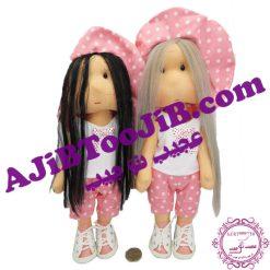 عروسک های روسی کلاهدار (دختر و پسر)