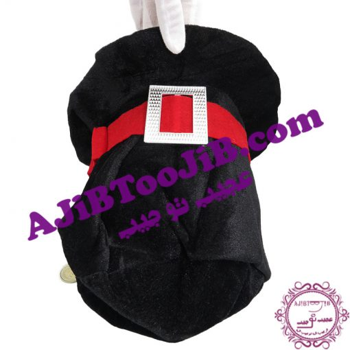 Black clown hat