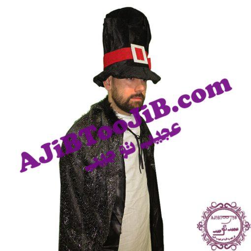 کلاه بلند دلقک مشکی