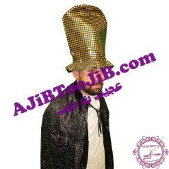 کلاه بلند دلقک طلایی
