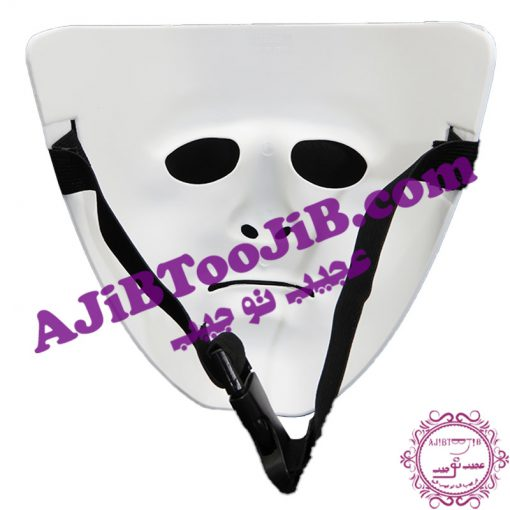 Theatrical white mask