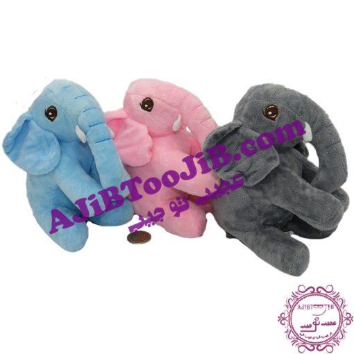 بچه فیل های آویز رنگی